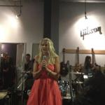Bridget Hoida reads from So L.A. at the Gibson Guitar Showroom