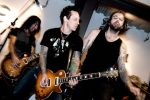 Billy Morrison & Franky Perez at the So L.A. Book Launch; Gibson Guitar Showroom (@Gibson90210)