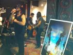 Franky Perez & the Truth rock the So L.A. Los Angeles Book Launch at the Gibson Guitar Showroom.